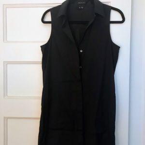 Theory Button Up Dress